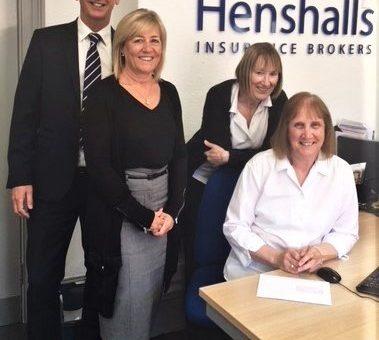 Henshalls staff celebrate